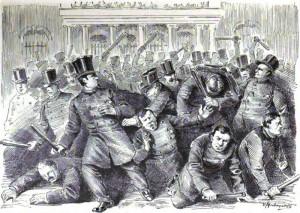 ¿Cómo se creó el primer cuerpo de policía de la ciudad de Nueva York?