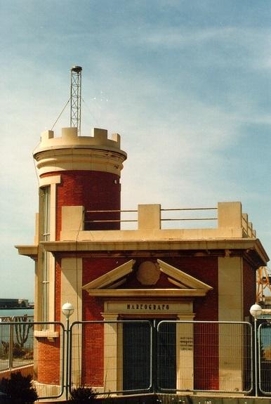 Mareógrafo de Alicante (Imagen cedida por el Centro de Observaciones Geodésicas)