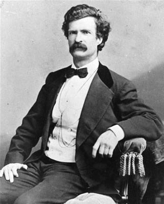 Mark Twain… Dios sabe donde