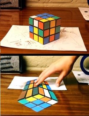Sorprendentes ilusiones anam rficas ya est el listo que - Ilusiones opticas para imprimir ...