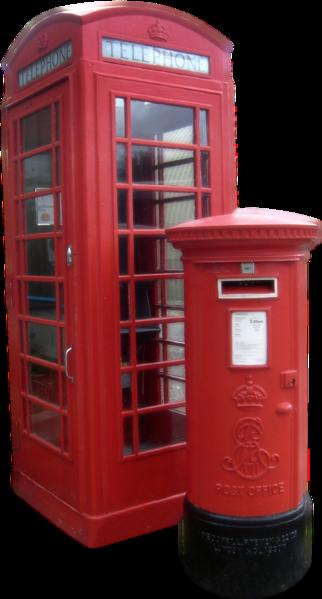 Porque son rojas las cabinas de tel fono en londres for Telefono oficina de correos