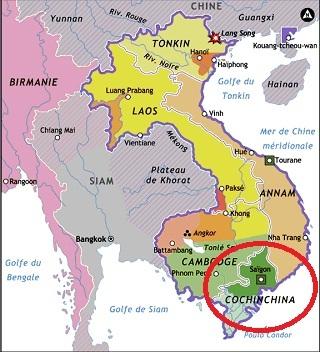 ¿Dónde está la Conchinchina?