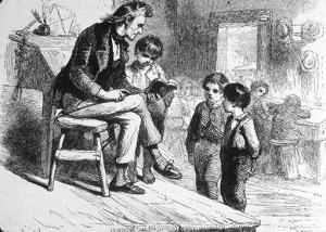 """¿Sabías que la palabra """"pedante"""" se usaba para referirse al maestro que enseñaba a domicilio?"""