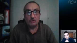 Salvador Raya realiza una videoentrevista a Alfred López