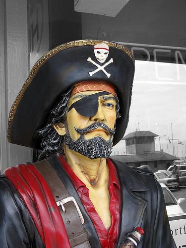 ¿Por qué los piratas llevaban un parche en el ojo?