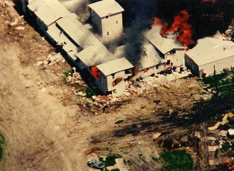 20 aniversario de la Masacre de Waco
