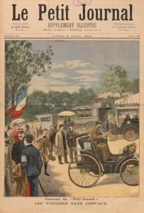 ¿Cuál fue la primera competición automovilística de la historia?