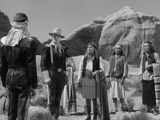 Un indio meteorólogo en el rodaje de 'Fort Apache' [Anécdota]
