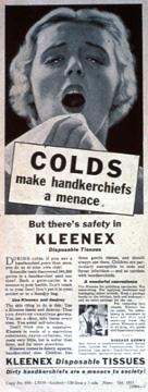 ¿Cuál es el origen de los 'kleenex'?