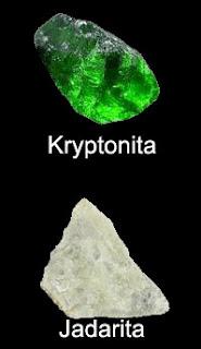 ¿Existe la kryptonita? (Jadarita)
