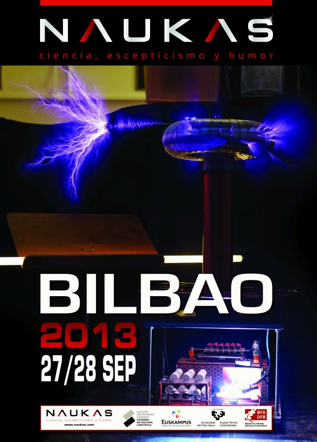 Programa de charlas de Naukas Bilbao 2013 y Quantum Naukas Donosti