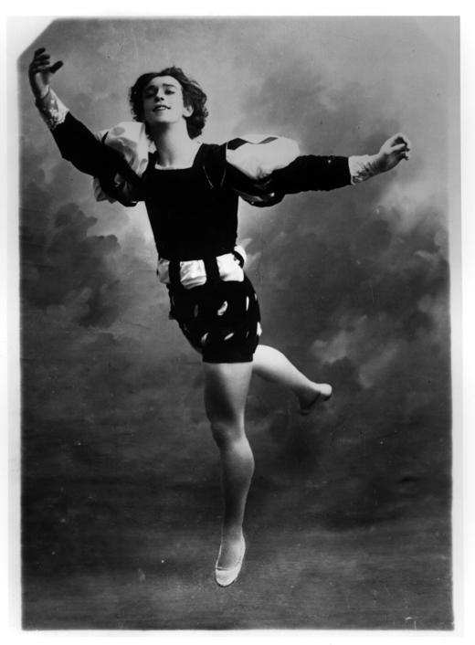 Nijinsky y su infalible técnica para quedar suspendido en el aire [Anécdota]