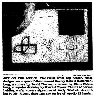 Moon Musseum, las obras de arte que viajaron a la Luna - The New York Times