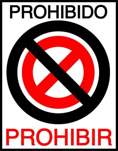¿Cuál es el origen etimológico del término 'prohibir'?
