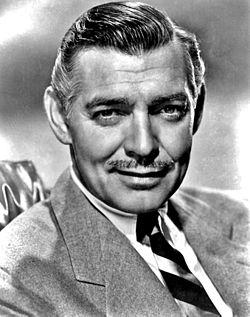 Clark Gable  (Fuente de la imagen Wikimedia commons)