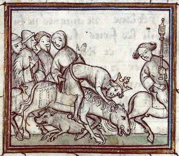 Luis VI y el curioso edicto porcino [Anécdota]
