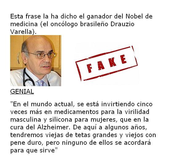 Drauzio Varella, el alzheimer y la viagra (fake)