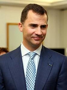 Felipe de Borbón (Felipe VI) rey de España y Jerusalén