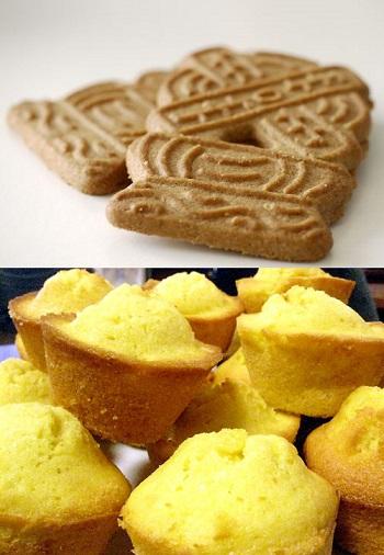 ¿Por qué las galletas se ponen blandas y las magdalenas se endurecen?