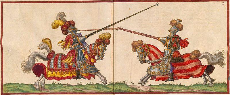 ¿Cuál es el origen de la expresión 'romper una lanza por alguien'?
