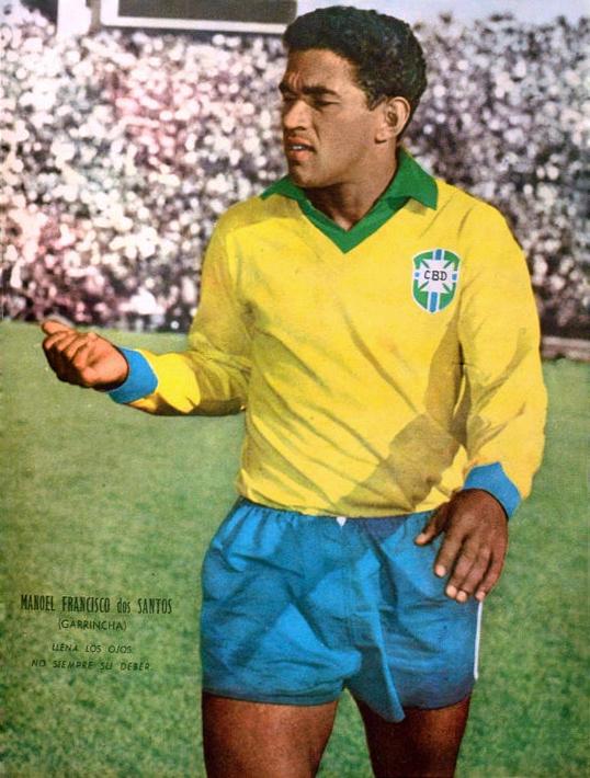 Cuando el masajista de la Selección Brasileña tomó el pelo a Garrincha [Anécdota]