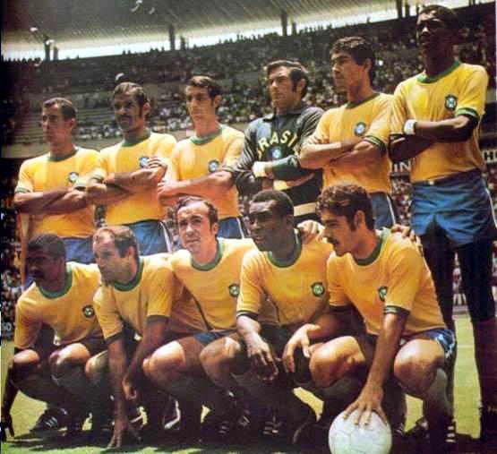 Selección de Brasil en el Mundial de México 1970