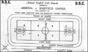¿Cuál fue la primera retransmisión de un partido de fútbol en la historia de la radio?