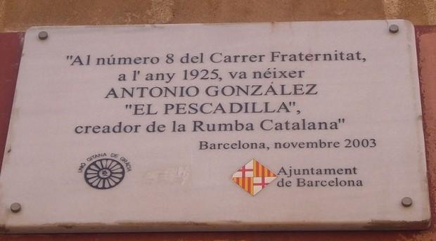Antonio González 'El Pescaílla' creador de la Rumba Catalana
