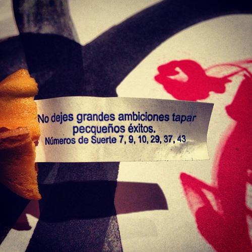 ¿Sabías que las galletas de la fortuna chinas no se inventaron en China?