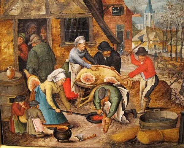 Cuál es el origen de la expresión 'A todo cerdo le llega su San Martín'