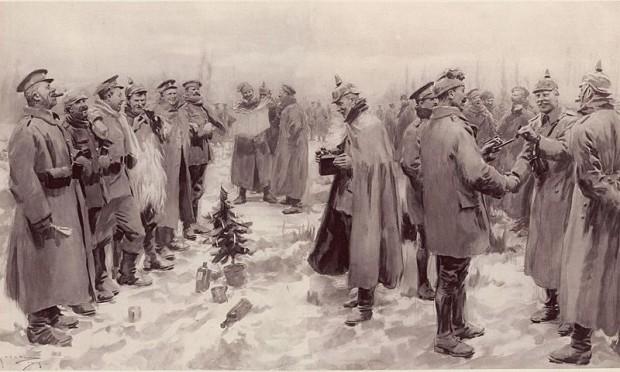 La tregua de Navidad de 1914 [Cuando la IGM se paró para celebrar la Nochebuena]