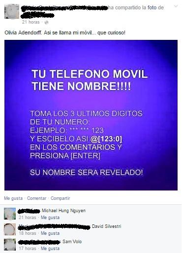 No, tu teléfono móvil no tiene nombre: la tomadura de pelo del meme @[123:0]