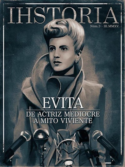 Portada número de marzo [#3] revista digital e interactiva iHSTORIA