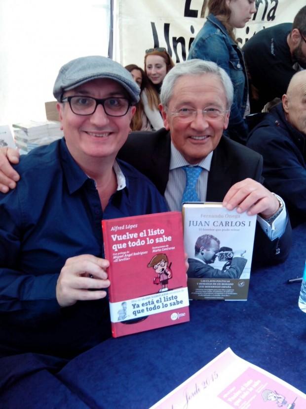 Alfred López y Fernando Ónega