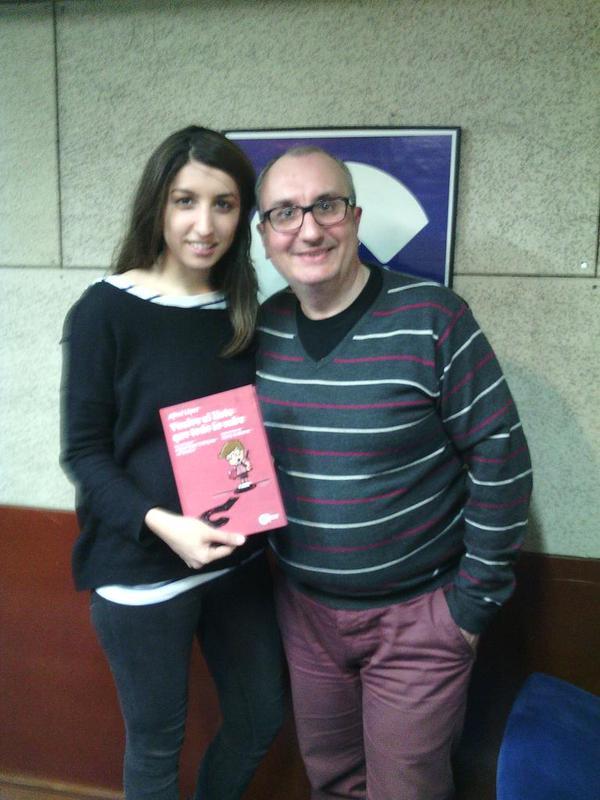 Alfred López y Flavia Codinas de La Tarda de Cope Catalunya