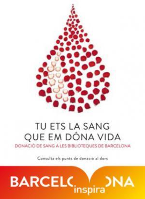 El Sant Jordi 2015 comienza con la Donación de Sangre en las bibliotecas