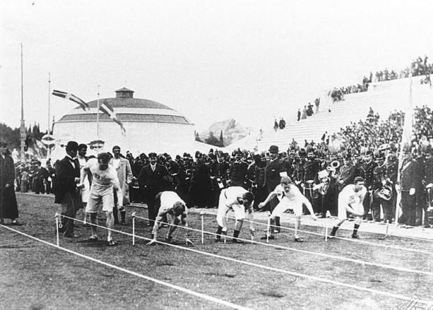 La curiosa primera final de 100 metros lisos en los Juegos Olímpicos de 1896