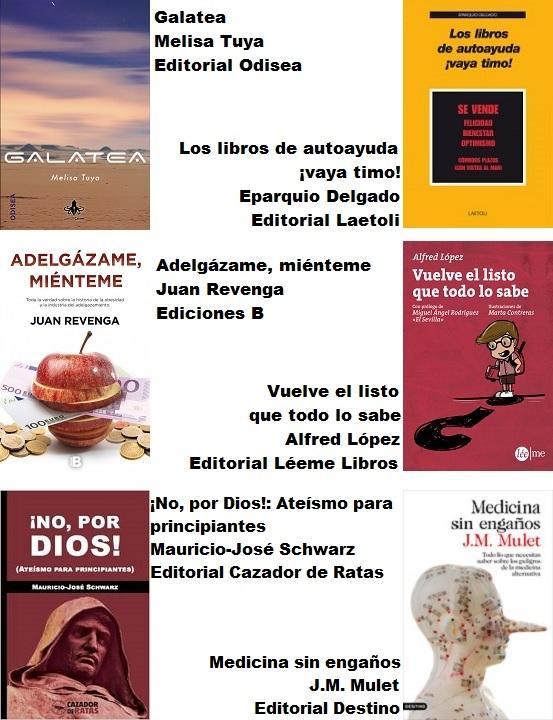Recomendaciones libros Sant Jordi
