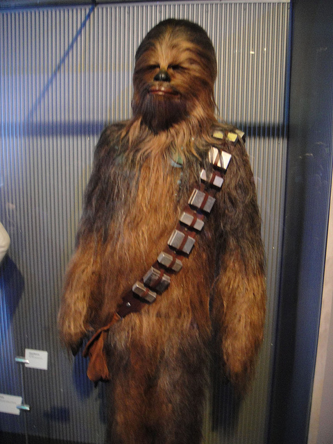 El perro que inspiró el personaje de Chewbacca