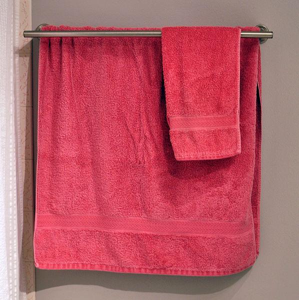 ¿Por qué hay que lavar periódicamente las toallas del baño si las utilizamos cuando ya estamos limpios?