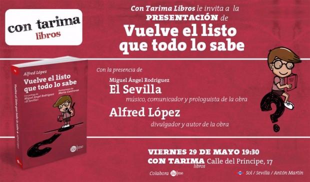 Presentación en Madrid y firma de ejemplares en la Feria del Libro #flm15 de Vuelve el listo que todo lo sabe