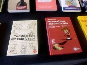 Presentación en Barcelona del libro 'Vuelve el listo que todo lo sabe'
