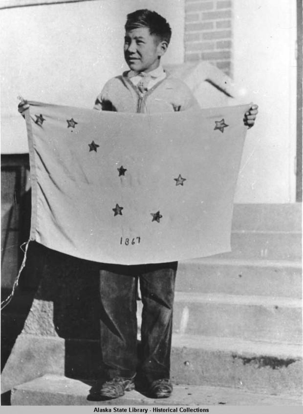 El curioso origen de la bandera de Alaska (Benny Benson)