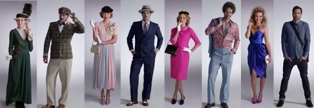 Cómo ha cambiado la moda masculina y femenina en los últimos 100 años