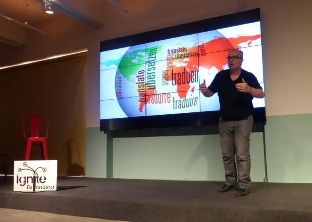 'Lost in Translation', charla de Alfred López sobre errores de traducción en #IgniteBCN2