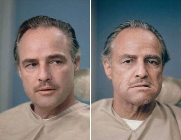 Marlon Brando (Vito Corleone - El Padrino)