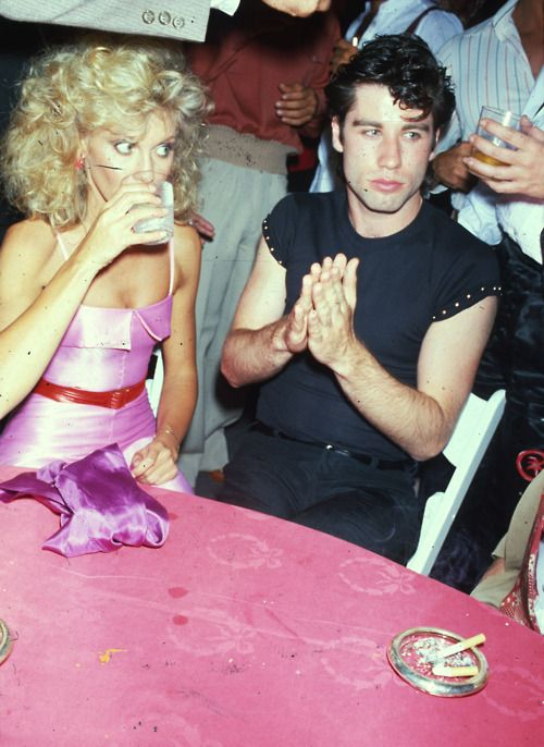 Olivia Newton-John y John Travolta (Grease)